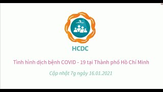 Tình hình dịch bệnh COVID-19 tại Thành phố Hồ Chí Minh (cập nhật 7g ngày 16/01/2021)