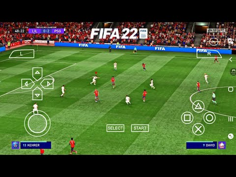 Download fifa 22 ppsspp original ps5 mobile play on android & ios best graphics offline
