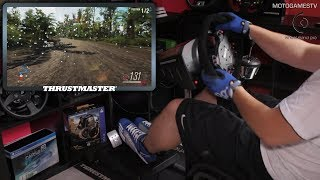 Forza Horizon 3 - Wheel Stand Pro with Thrustmaster TS-XW Racer Sparco P310 Wheel