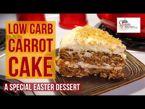 low-carb-carrot-cake-#lowcarb-#ketodiet-#ketolifestyle-#lowcarbdessert-#easterdessert