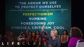 Why Brené Brown Says Perfectionism Is a 20-Ton Shield | Oprah