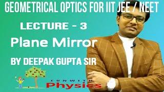 plane mirrors physics | plane mirror in hindi | plane mirror in hindi