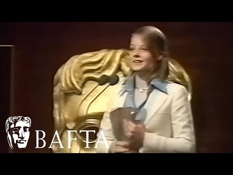 14 Year Old Jodie Foster win Supporting Actress BAFTA in 1977