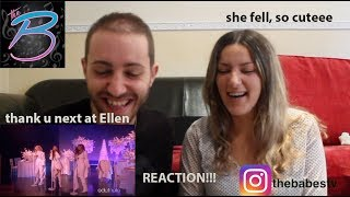Ariana Grande - thank u, next (Live at Ellen) REACTION!!!