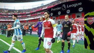 Huddersfield vs Arsenal - Premier League 9 February 2019 Gameplay