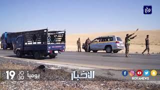 ضبط شاحنة محملة بأحذية مهربة على الطريق الصحراوي - (13-10-2017)
