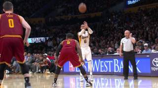 David Nwaba Goes Up HIGH For The Alley Oop Slam in Los Angeles | March 19, 2017
