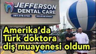 Amerika'da Türk doktora diş muayenesi oldum - Amerika Vlog #125