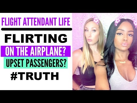 ASK A FLIGHT ATTENDANT | Flirting? Crash Pads? Upset Passengers? Reserve Life?