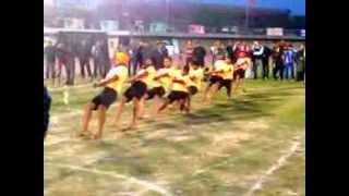 Tug of war match india vs pakistan indo pak games punjab youth festivel (LAHORE)4rd March