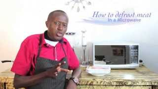 How Defrost Meat Using Microwave Oven Hd