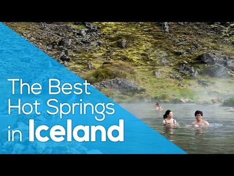 The Best Hot Springs in Iceland