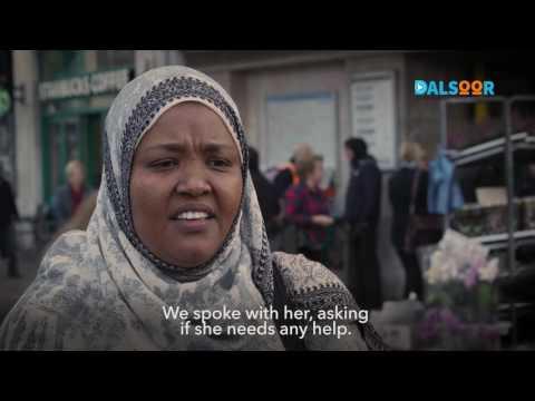 Hooyo Soomaaliyeed oo darbi-jiif ku ah London -  A Somali mum sleeping rough in London