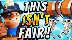 CURRENT BEST DECK IN CLASH ROYALE! UNFAIR WALL BREAKERS CYCLE!