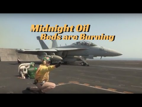 """Midnight Oil """"Beds are Burning"""" - Navy Jets Music Video"""