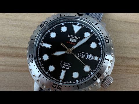 low priced cc9eb 500aa Seiko 5 SRPC61 Bottle Cap Review