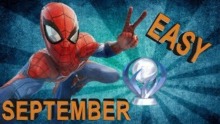 PS4 Easy Platinum Games in September 2018 | 11 Easy Playstation 4 Games