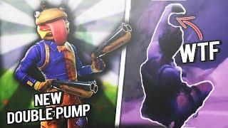 2 DOUBLE BARREL SHOTGUNS ARE KINKY & ARM GLITCH - (Fortnite Battle Royale | Twitch Clips #5)