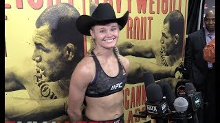 UFC on ESPN 1 Post-Fight: Andrea Lee