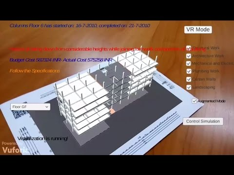 BIM Augmented/Virtual Reality App for Construction