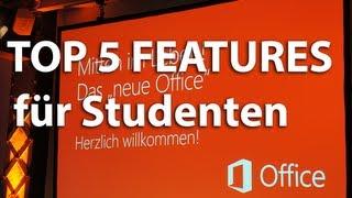 Office 365 University 2013 - Top 5 Neuerungen für Studenten