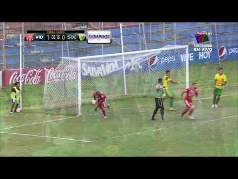 1-0 Gol de Jerry Palacios (Vida vs Social Sol)