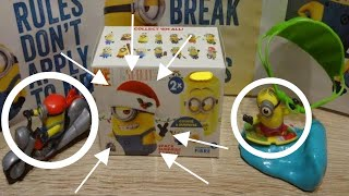 Minions Despicable Me 3 Maxi Kinder Surprise Eggs Minions Movie #128
