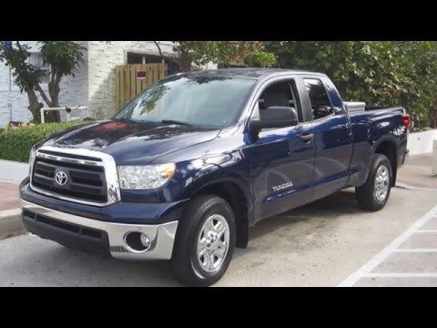 2012 Toyota Tundra SR5 4 dr. Happy Buyer in Fort Lauderdale