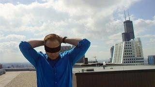 Walking a Wire Blindfolded | Skyscraper Live