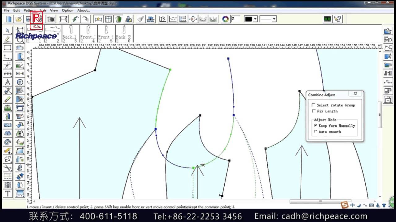 Richpeace CAD Software Online Lessons - Tip of the day - Grainline (V10)