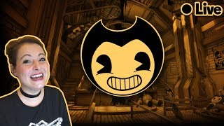 *JUMP SCARES*  Bendy and the Ink Machine