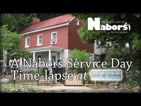 Nabors Service Day at Woods Creek Montessori