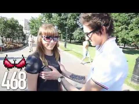видео мужик трогает жену за сиськи силиконовой письке