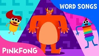 My Body | Word Power | Learn English | Pinkfong Songs for Children
