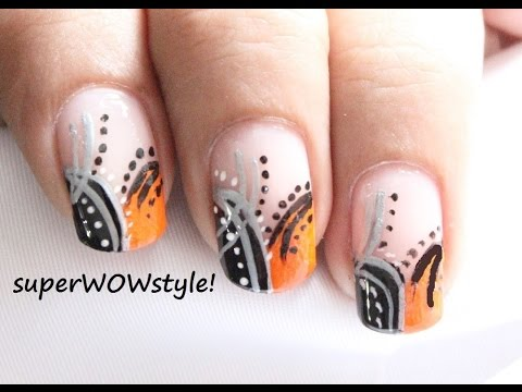 Abstract Nail Art Designs for Beginners - EASY Step by ...