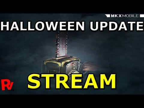 💪[STREAM] 💪HALLOWEEN UPDATE💪ЖДЕМ СТРИМ РАЗРАБОТЧИКОВ💪Mortal Kombat X mobile(ios)