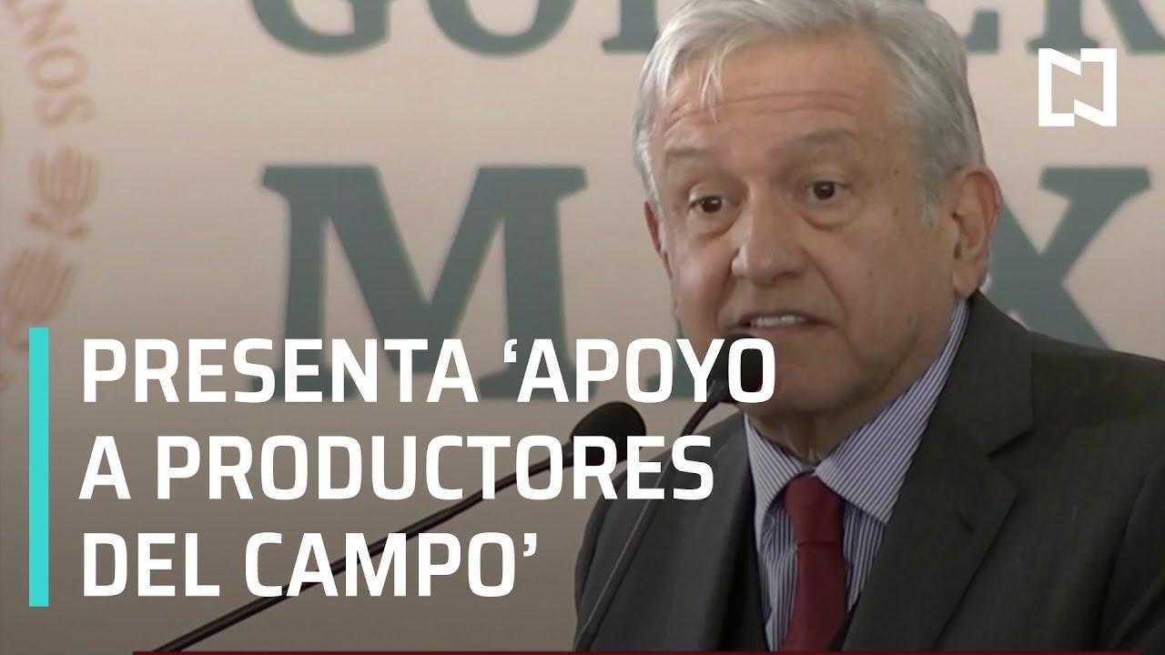 AMLO ofrece apoyo a productores del campo en Zacatecas - Las Noticias