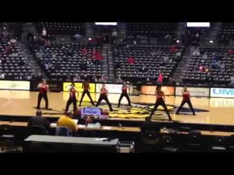 Coffeyville Community College Red Raven Dance Team 2013-2014