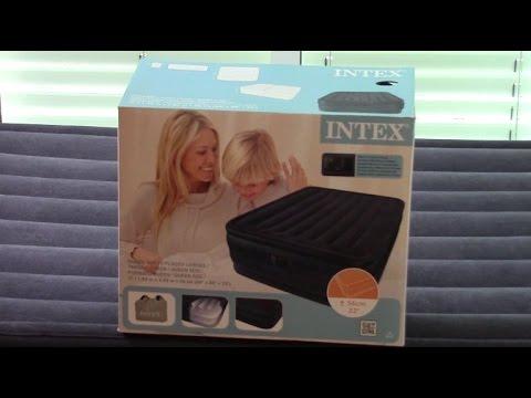 Unboxing Intex Luftbett Youtube
