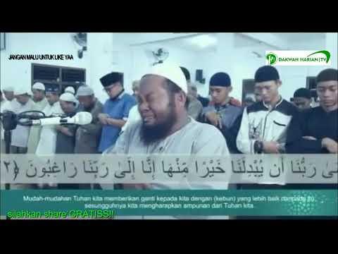 masya Allah lantunan ayat Quran menyayat hati IMAM MEENANGIS