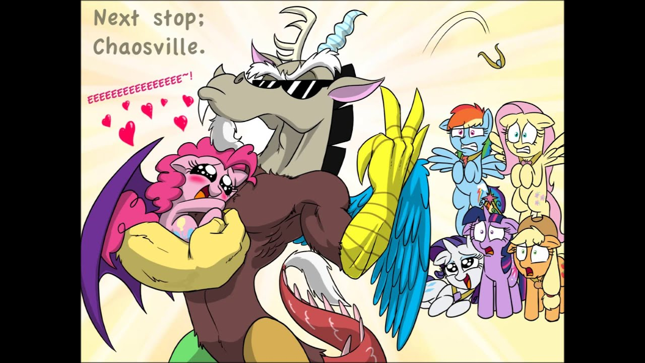 Discord And Pinkie Pie Youtube