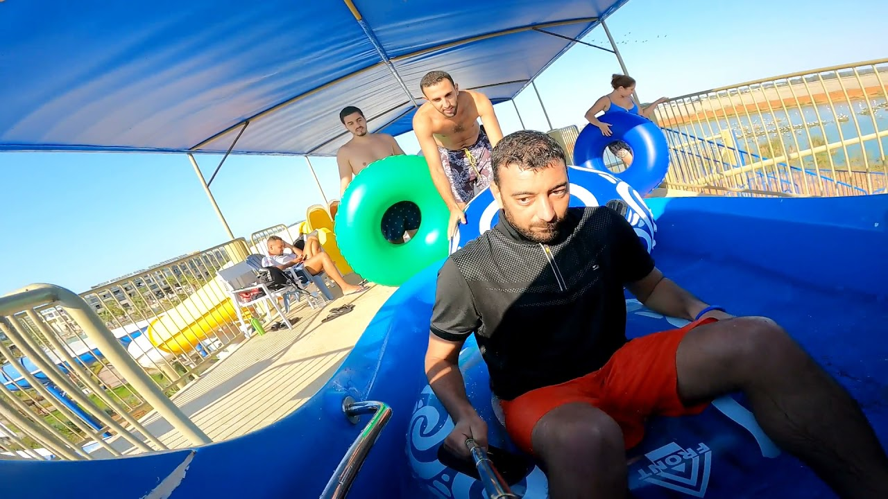 Waves Aqua Park Kenitra Au Maroc GoPro Hero 9 | اكوابارك القنيطرة تصوير احترافي تحت الماء| 4
