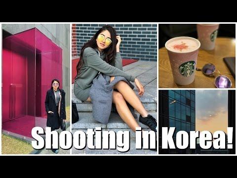 Korea Vlog : Shooting, Shopping & more! | Aashna Shroff