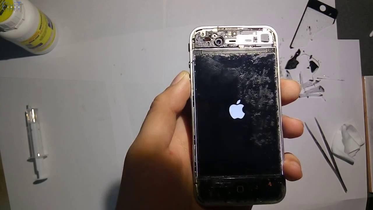 Как заменить стекло в iPhone