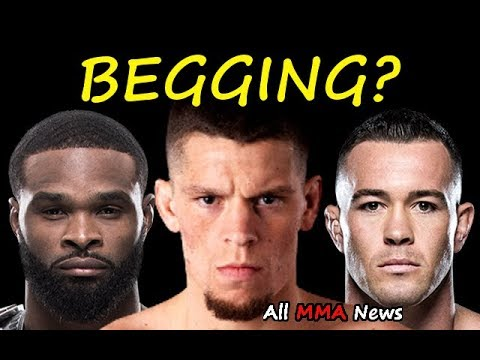 Is Tyron Woodley BEGGING for the Nate Diaz FIGHT?  Future of the Welterweight Division?