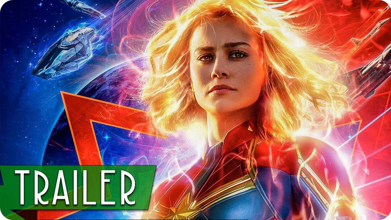 Captain Marvel Trailer Deutsch