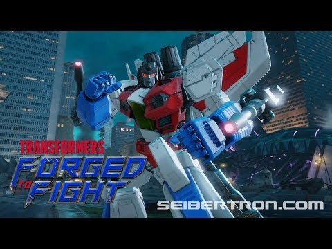 Transformers Forged to Fight STARSCREAM Exclusive Video