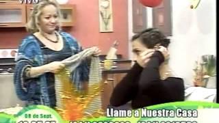 Arte y Belleza del Tejido Chaleco Redondo.wmv