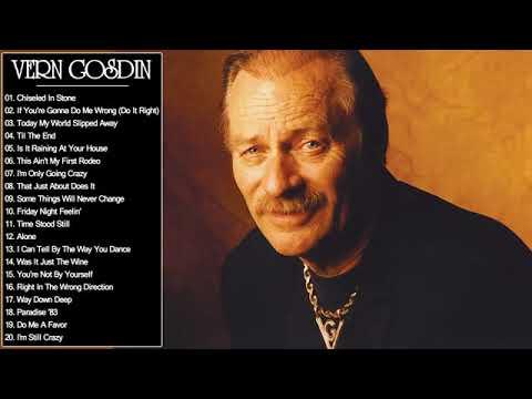 Vern Gosdin Greatest Hits    Vern Gosdin Best Songs Full Album
