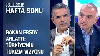 Bakan Mehmet Nuri Ersoy ileturizmdeki gelişmeler - Hafta Sonu 18.11.2018 Pazar